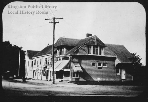 The Adams Block, circa 1900