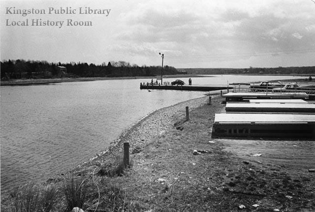 Town Landing looking south, 1975