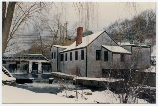 Elm Street Pumping Station, 1992