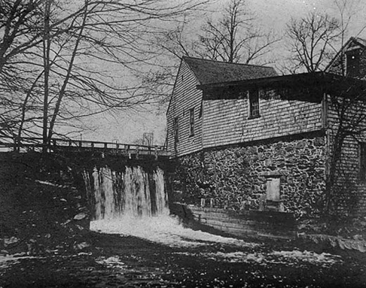 Elm Street Pumping Station, circa 1920
