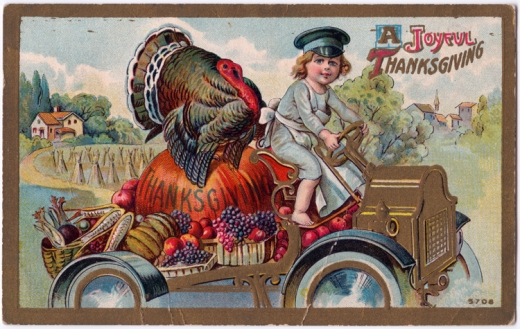 """""""A Joyful Thanksgiving,"""" about 1911"""