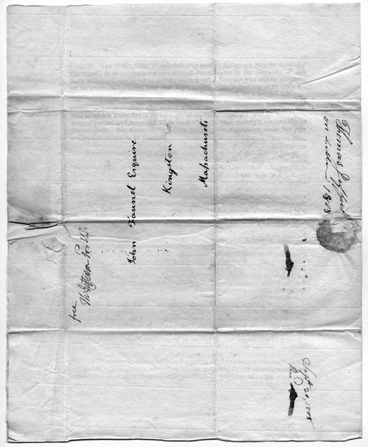 Jefferson letter, page 3, 1808