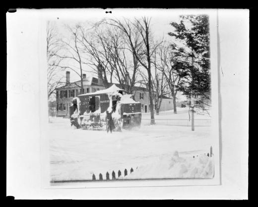 Brockton & Plymouth Street Railway Company snowplow, circa 1915