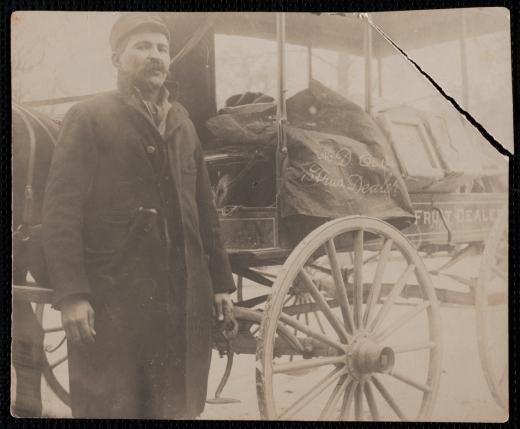 """Peanut Jack"" Costa, around 1908"