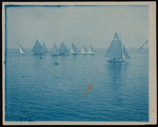 Regatta on Kingston Bay, circa 1905