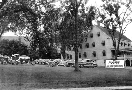 Kingston Inn giant postcard, circa 1960